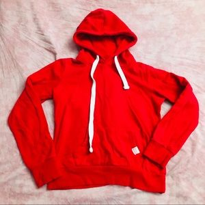 RED PULLOVER HOODIE REFLEX LIFE IS OUT THERE